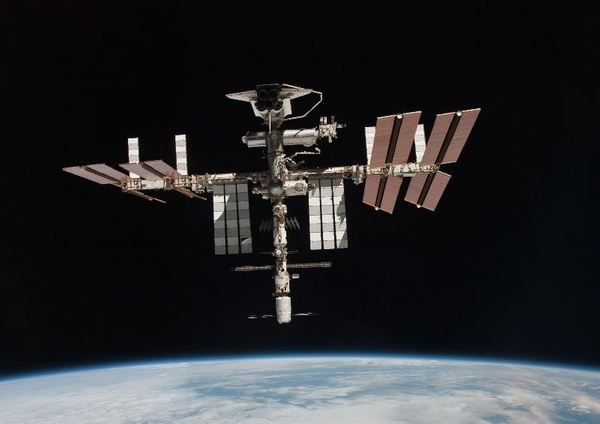 Endeavour, ISS