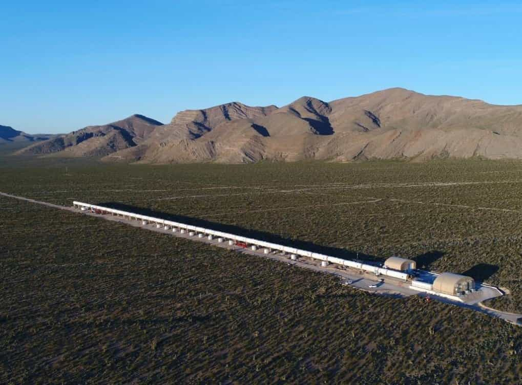 Hyperloop One v Evropě