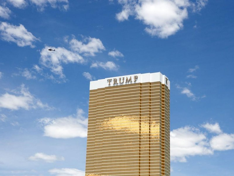 Budova Trump Tower v Las Vegas v Nevadě, USA.