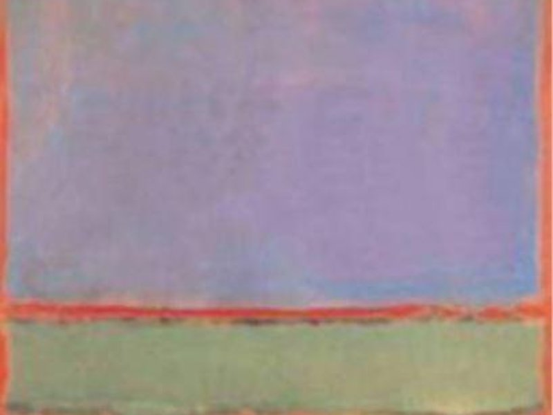 Mark Rothko - No. 6 (Violet, Green and Red)