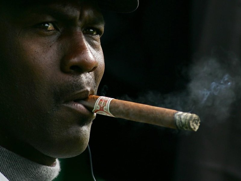 Basketbalová legenda Michael Jordan